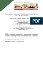 ARTIGO - Projeto de consolidação das ruínas de São Boaventura - Itaboraí – RJ.pdf
