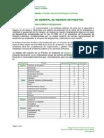 Inventario General de Riesgos en Puertos Versin 07 2012