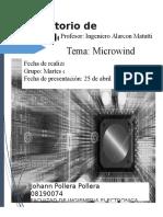 Informe 1 de Micro Electronica