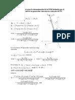 Ecuaciones Analíticas FEM Inducida Generador Síncrono Universidad Nacional del Callao LIMA PERU