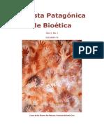 Rvista Patagónica de Bioética