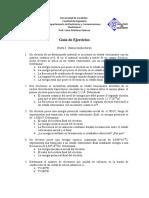 Guia Ejercicios Parte 1. Semiconductores - Universidad de Carabobo - Venezuela