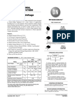 positive voltage regulator spread sheet