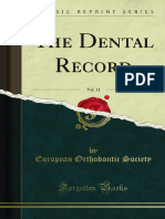 The Dental Record v11