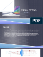 Distancia focal-Optica