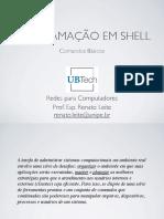02 - Programação Em Shell - Linux - Comandos Básicos