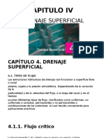 Capitulo IV Drenaje Superficial