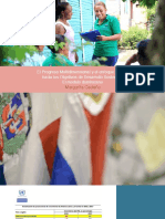 El Progreso Multidimensional y el enfoque integral hacia los Objetivos de Desarrollo Sostenible