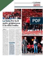 La Provincia Di Cremona 19-05-2017 -  Festa Serie B - pag.1