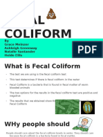 fecal coliform
