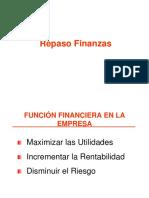 Repaso Finanzas
