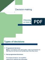 Decision Making/sushant