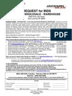 Costco WHS Bid Invite E Lansing MI 02 08 17