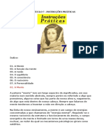 Instruções Básicas - Fasciculo 7