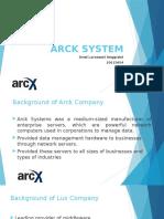 Compensation - Arck System