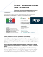 IsiameD Primo Modello Digitale Italiano Per l Agroalimentare