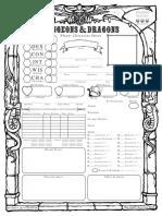 Old School 5E D&D Character Sheet (Form)_1