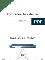 Enrutamiento estático_Cap2