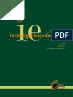 Revista de Investigacion Educativa REDIECH