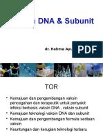 vaksin DNA dan subunit