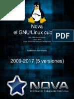 NOVA la distribucion Cubana de Linux