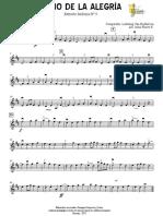 Himno de La Alegría - Violín I