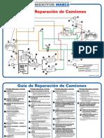 Material Guia Reparacion Camiones Diagrama Esquema Sistemas Componentes Meritor Wabco Problemas Soluciones