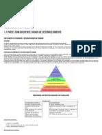 1.1 Paises Com Diferentes Graus de Desenvolvimento