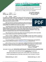 OCF Camp Forms