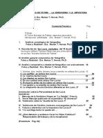 DOS SOR LUCÍAS DE FÁTIMA, LA VERDADERA Y LA IMPOSTORA - Dra. Marian T. Horvat Ph.D..pdf