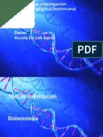 Anteproyecto de Investiacion de Biotecnologia
