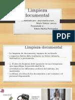 Limpieza Documenta4