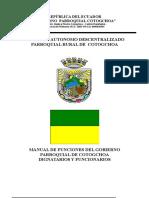 Manual de Funciones Del Gad Parroquial
