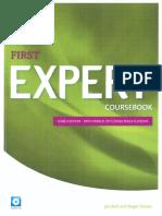 First Expert Coursebook Third Edition