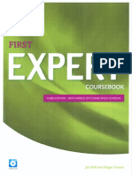 First Expert Coursebook Third Edition