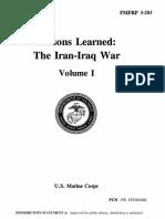 FMFRP 3-203 Lessons Learned-The Iran-Iraq War-Vol 1.pdf
