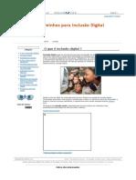 O Que é Inclusão Digital - Caminhos Para Inclusão Digital (1)