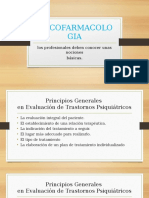 PSICOFARMACOLOGIA Presentación
