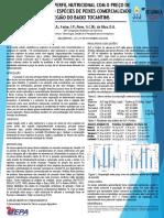 Avaliação Do Perfil Nutricional Com o Preço de Venda de Cinco Espécies de Peixes Comercializado Na Região Do Baixo Tocantins