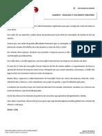Espelho - Simulado - Direito Tributário - XXII Exame de Ordem - 2ª fase