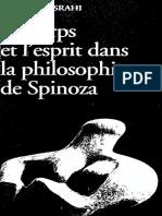 Misrahi Le Corps Et Lesprit Dans La Philosophie de Spinoza