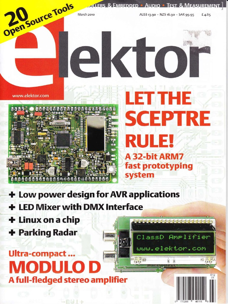 Elektor 2010 03pdf Microcontroller Printed Circuit Board Spitimingdiagram