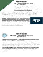 Unidad 1 Introduccion Perforaciones - Perforacion Rotopercutiva