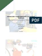 Operación y Mantenimiento de Equipos Mineros(1)