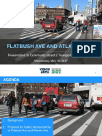 Flatbush and Atlantic Avenue NYC DOT Plans, presentation 5/18/17