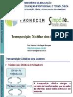 Transposição Didática 10º Simp