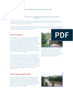 Potabilización Del Agua en La Planta de Tratamiento Chancay