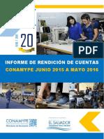 Rendicion de Cuentas Final 2015 2016