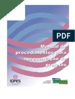 ManualdeprocedimentosparaapresentacaodeProjetosIOPESRevisaojunho2009