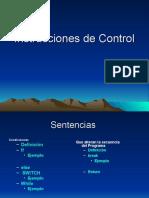 Estructurascontrol CLASES